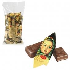 Конфеты шоколадные КРАСНЫЙ ОКТЯБРЬ 'Аленка', вафельные, молочно-ореховые, 1000 г, пакет, КО11384