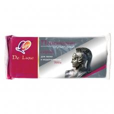 Пластилин скульптурный ЛУЧ 'Люкс', серый, 0,5кг, твердый, 9С 441-08