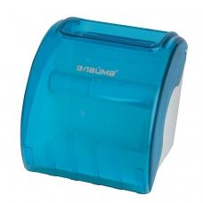 Диспенсер для туалетной бумаги в стандартных рулонах, тонированный голубой, ЛАЙМА, 605043