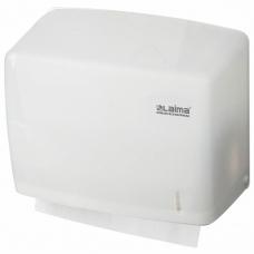 Диспенсер для полотенец LAIMA PROFESSIONAL ORIGINAL Система H3, V ZZ, белый, ABS-пластик, 605761