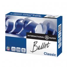 Бумага офисная А4, класс 'B', BALLET CLASSIC, 80 г/м2, 500 л., ColorLok, International Paper, белизна 153% CIE