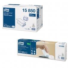 Салфетки TORK N4, N12 Xpressnap, комплект 5 шт., 21,3х16,5 см, 200 шт., 2-слойные, белые, ультрамягкие, 15850