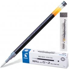 Стержень гелевый PILOT, 110 мм, ЧЕРНЫЙ, узел 0,5 мм, линия письма 0,3 мм, BLS-G2-5