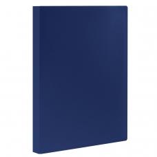 Папка 20 вкладышей STAFF, синяя, 0,5 мм, 225692