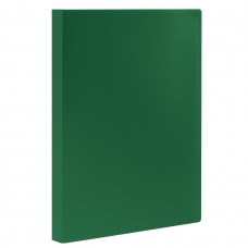 Папка 60 вкладышей STAFF, зеленая, 0,5 мм, 225707