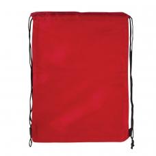 Сумка для обуви BRAUBERG, прочная, на шнурке, красная, 42x33 см, 227141