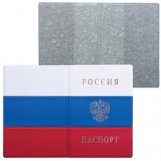 Обложка 'Паспорт России Флаг', ПВХ, 'ДПС', 2203.Ф