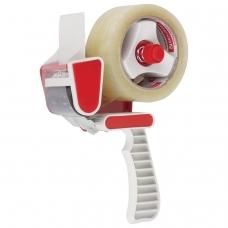 Диспенсер для клейкой упаковочной ленты, шириной до 50 мм, пластик, STAFF, 440124