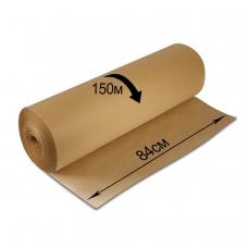 Крафт-бумага в рулоне, 840 мм х 150 м, плотность 78 г/м2, BRAUBERG, 440147