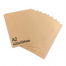 Крафт-бумага в листах А2, 420 х 594 мм, плотность 78 г/м2, 100 листов, BRAUBERG, 440150