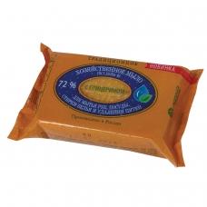 Мыло хозяйственное 72%, 150 г ЭФКО 'Традиционное', с глицерином, в упаковке, 80398
