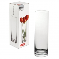 Ваза 'Flora', колба, высота 26,5 см, стекло, PASABAHCE, 43767
