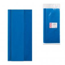 Скатерть одноразовая из нетканого материала спанбонд, 140х110 см, ИНТРОПЛАСТИКА, синяя