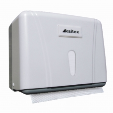 Диспенсер для полотенец KSITEX Система H3, ZZ V, белый, ТН-404W