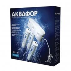 Фильтр для воды АКВАФОР 'Кристалл Н', для холодной воды, 3 ступени, ресурс 6000 л, кран в комплекте, И5963