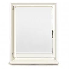 Штора рулонная светонепроницаемая Блэкаут BRABIX 50х175 см, белый/серебро, 606004