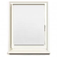 Штора рулонная светонепроницаемая Блэкаут BRABIX 60х175 см, белый/серебро, 606007
