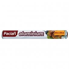 Фольга алюминиевая 29смх20м, в рулоне, PACLAN, ш/к1459, 401127