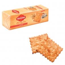 Печенье-крекер ЯШКИНО 'Французский', с кокосовой стружкой и кунжутом, 185 г, МГ219