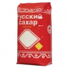 Сахар-песок 'Русский', 1 кг, полиэтиленовая упаковка