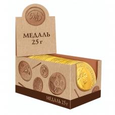 Шоколадная медаль МОНЕТНЫЙ ДВОР 'Императоры России', 25 г, 206