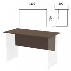 Столешница, царга стола письменного 'Канц' 1200х600х750 мм, цвет венге, СК22.16.1