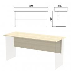 Столешница, царга стола письменного 'Канц' 1600х600х750 мм, цвет дуб молочный, СК20.15.1