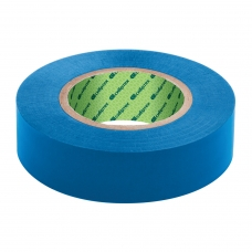 Изолента ПВХ, 15 мм х 10 м, СИБРТЕХ, 130 мкм, синяя, 88787